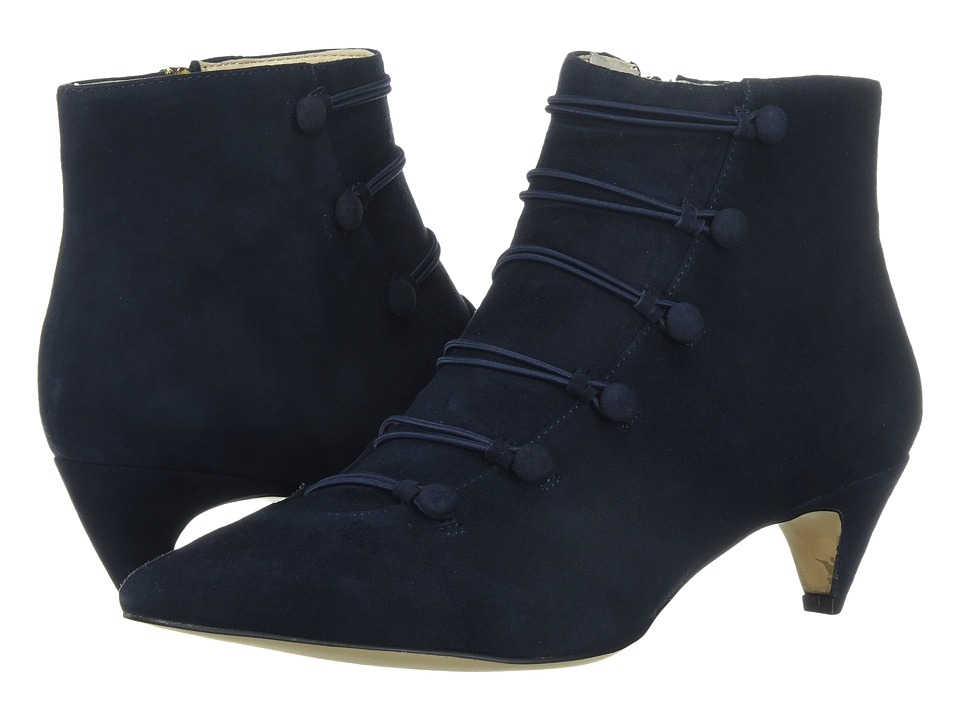 Nine West Zadan (Navy Suede) Women