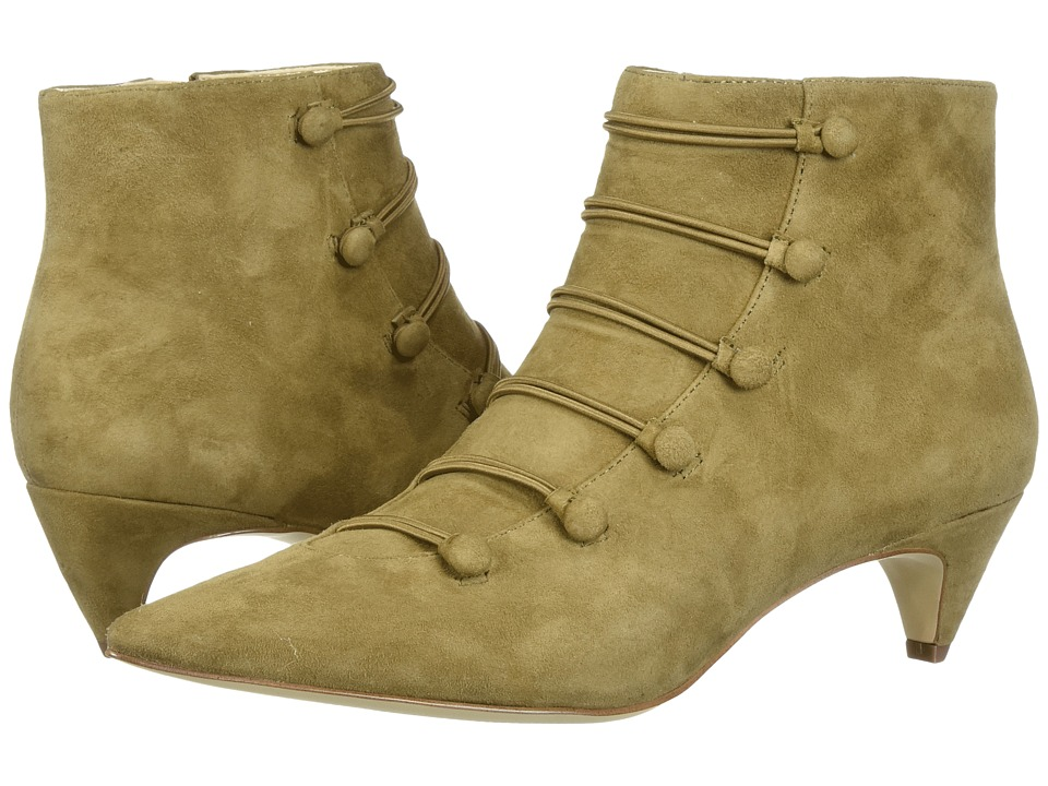 Nine West Zadan (Green Suede) Women