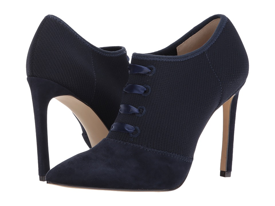 Nine West Tria (Navy/Navy Fabric) Women