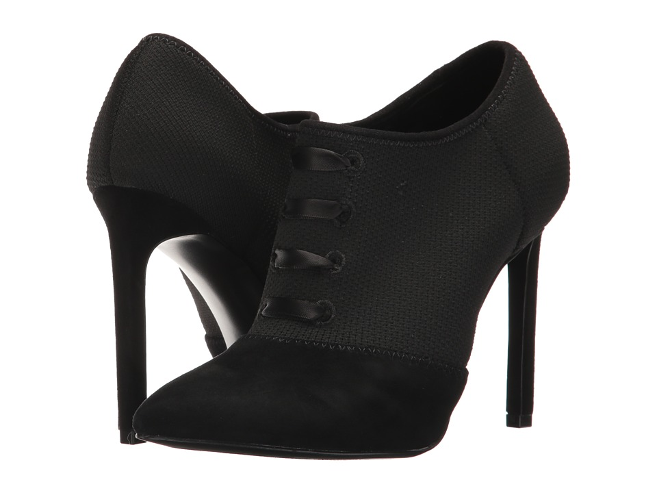 Nine West Tria (Black/Black Fabric) Women