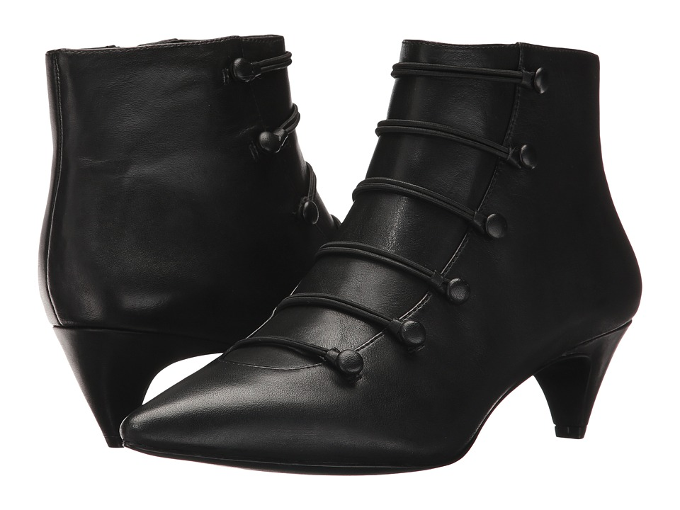 Nine West Zadan (Black Leather) Women