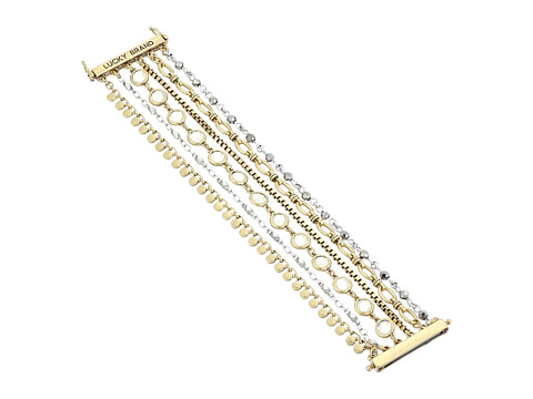 Lucky Brand Chain Lucky Layer Bracelet - Two-Tone