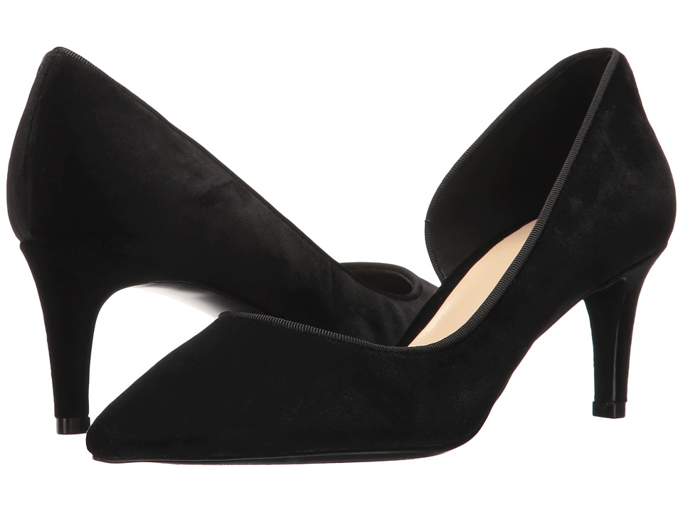 Nine West - Sarinda (Black Fabric) Womens 1-2 inch heel Shoes