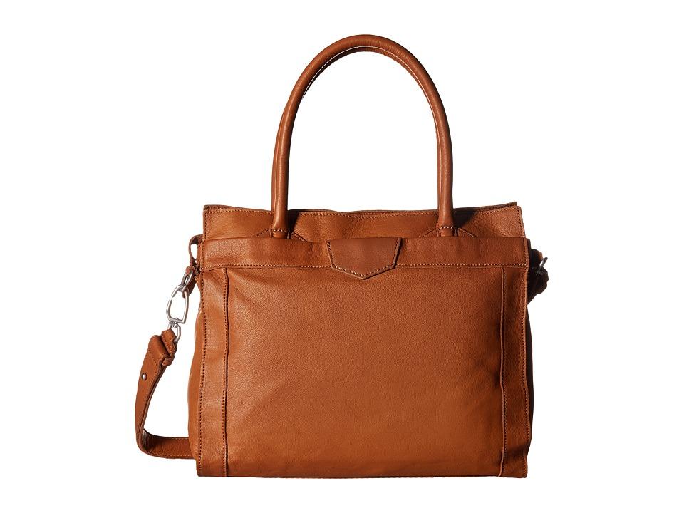 Liebeskind - Glory7 (Cognac) Handbags
