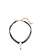 Lucky Brand - Two-Tone Choker Necklace