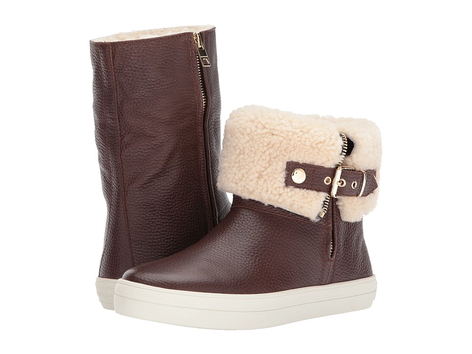 Burberry - Skillman (Malt Brown) Womens Zip Boots