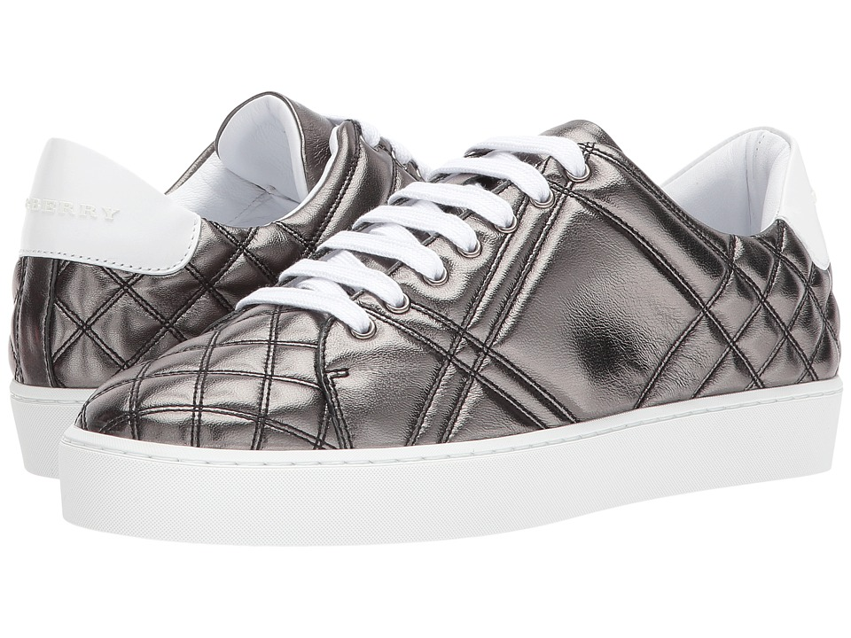 Burberry Westford Quilt (Metallic Grey) Women