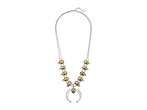 Lucky Brand Squash Blossom Statement Necklace - Two-Tone