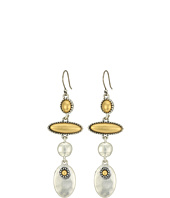 Lucky Brand - Two-Tone Linear Earrings