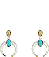 Lucky Brand - Convertible Turquoise Earrings