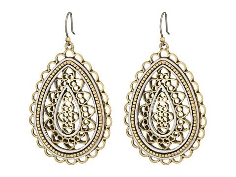 Lucky Brand Openwork Earrings II - Two-Tone