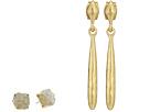 Lucky Brand Druzy Drop Earrings Set