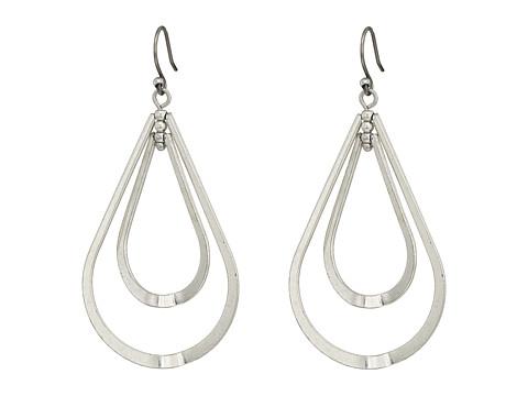 Lucky Brand Double Orbit Earrings - Silver