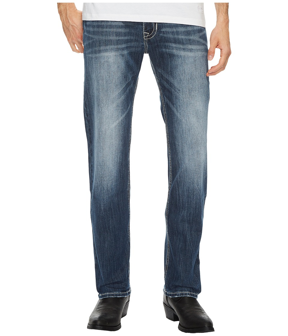 Rock and Roll Cowboy - Reflex Revolver Slim in Dark Vintage M1R4442 (Dark Vintage) Mens Jeans