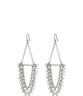Lucky Brand - Tri-Tone Chain Earrings