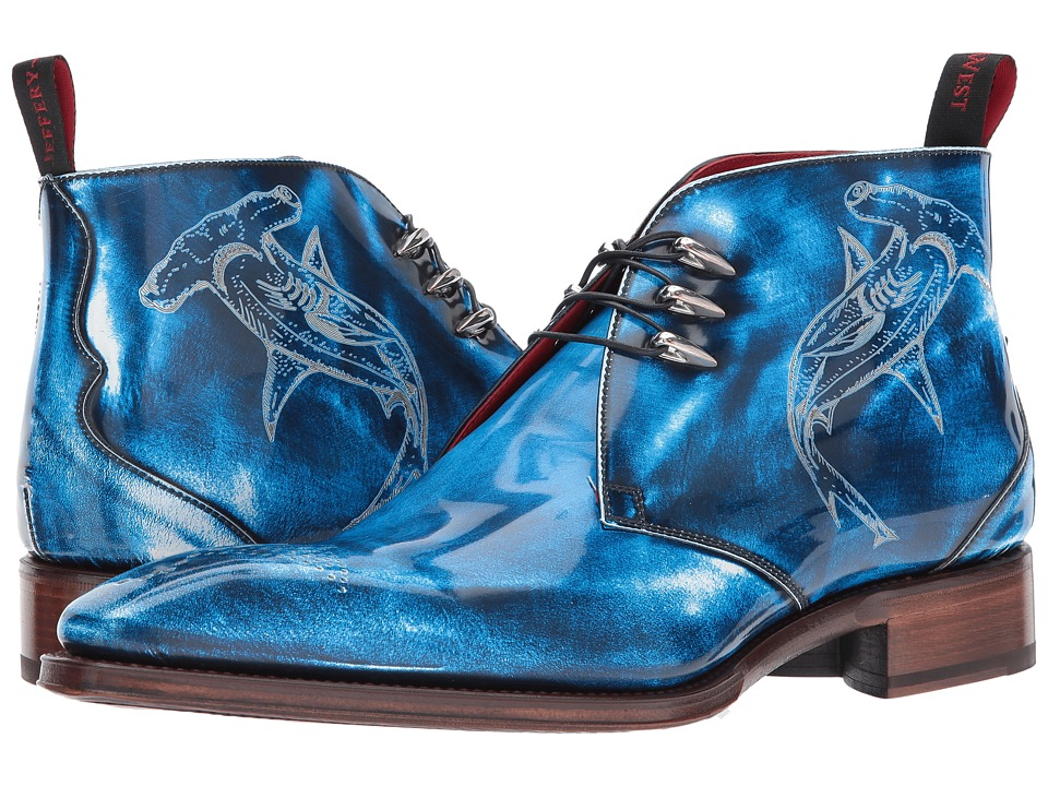 Jeffery-West - Moon Shark Hammerhead Shade (Blue) Mens Shoes