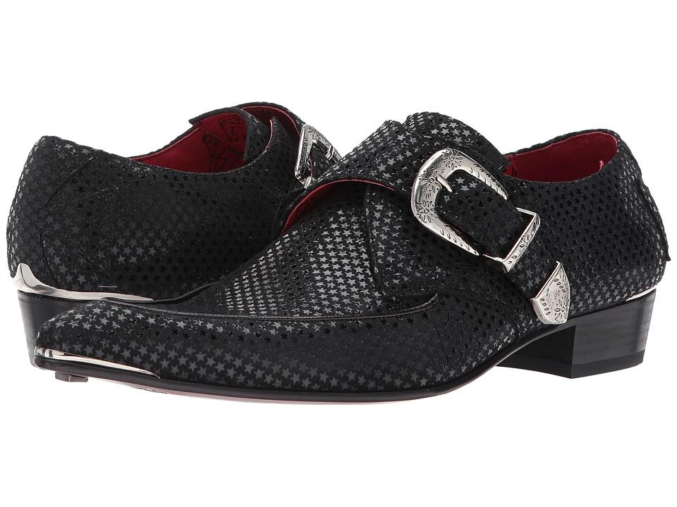 60s Mens Shoes | 70s Mens shoes – Platforms, Boots Jeffery-West - Apron Monk Black 1 Mens Shoes $288.00 AT vintagedancer.com