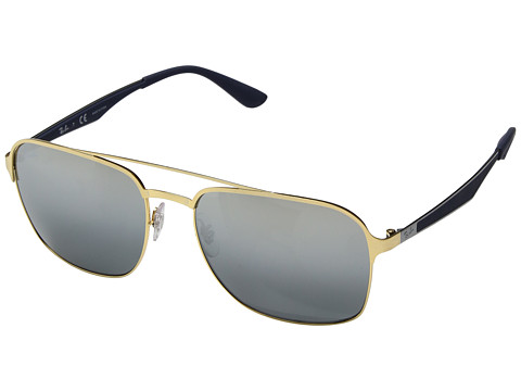 Ray-Ban RB3570 58mm - Gold/Grey Mirror Silver Gradient