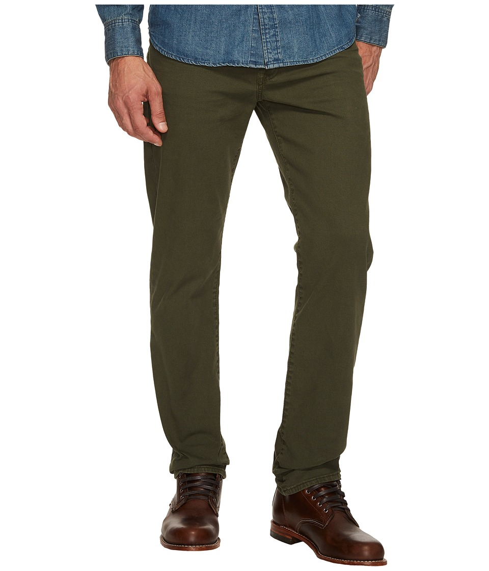 Lucky Brand - 121 Heritage Slim in Forest Night
