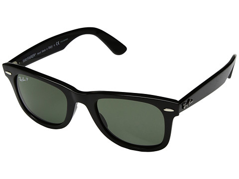 Ray-Ban Wayfarer Ease RB4340 50mm - Black/Polarized Green Classic G-15