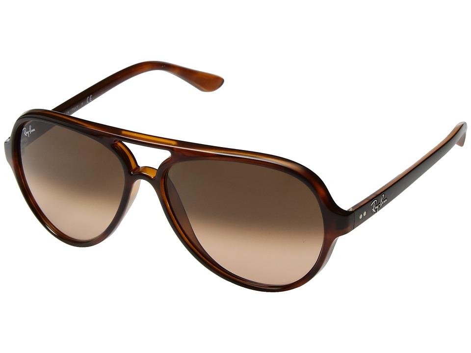 Ray-Ban Cats 5000 RB4125 59mm (Havana/Pink Brown Gradient) Fashion Sunglasses