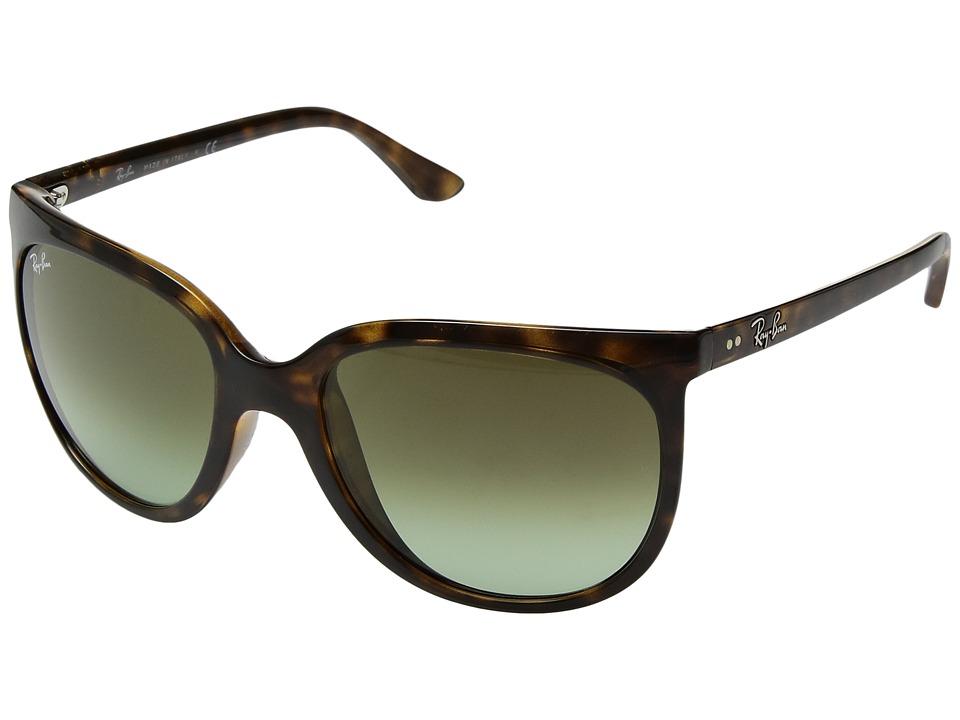 Ray-Ban Cats 1000 RB4126 57mm (Havana/Green Gradient) Fashion Sunglasses