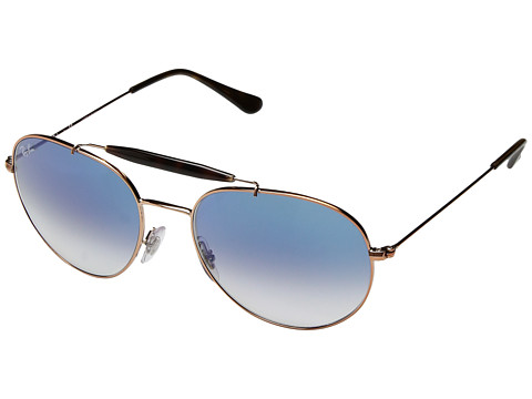 Ray-Ban 0RB3540 56mm - Brushed Copper/Light Blue Gradient