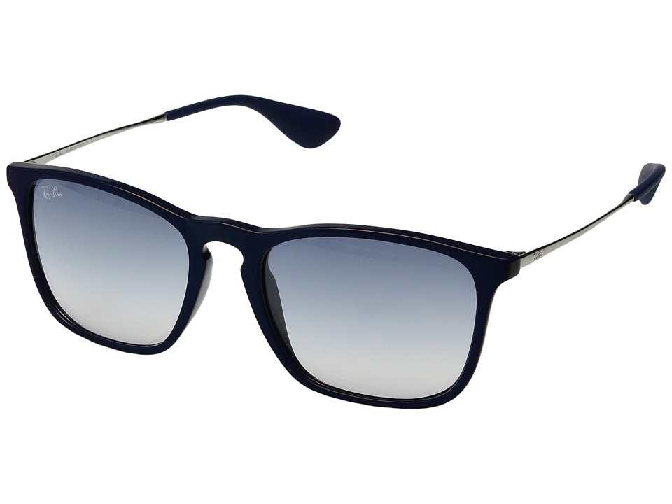 Ray-Ban Chris RB4187 54mm (Blue/Light Blue Gradient) Fashion Sunglasses