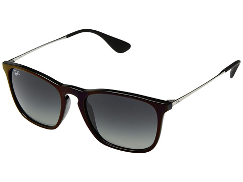 Ray-Ban Chris RB4187 54mm - Black/Red/Grey Gradient