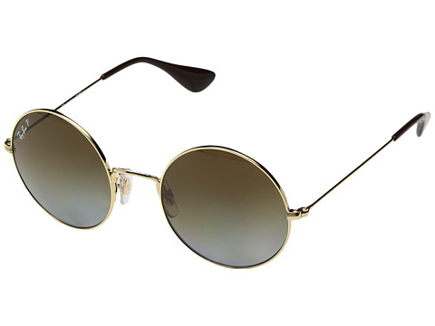 Ray-Ban RB3592 JA-JO 50mm - Gold/Polarized Brown Gradient