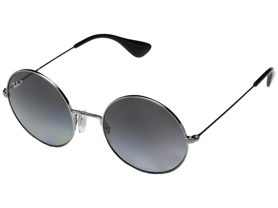 Ray-Ban RB3592 JA-JO 50mm (Gunmetal/Polarized Grey Gradient) Fashion Sunglasses