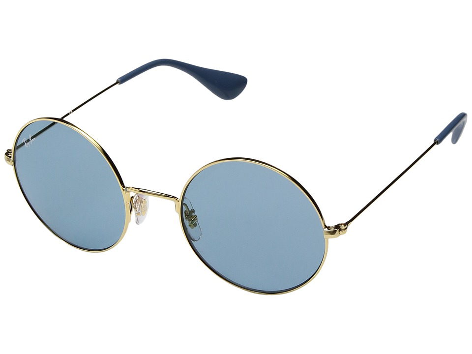 Ray-Ban RB3592 JA-JO 50mm (Gold/Light Blue Classic) Fashion Sunglasses