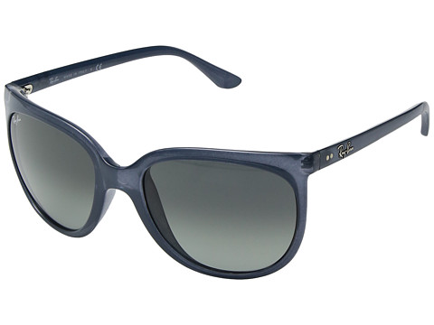Ray-Ban Cats 1000 RB4126 57mm - Transparent Blue/Grey Gradient