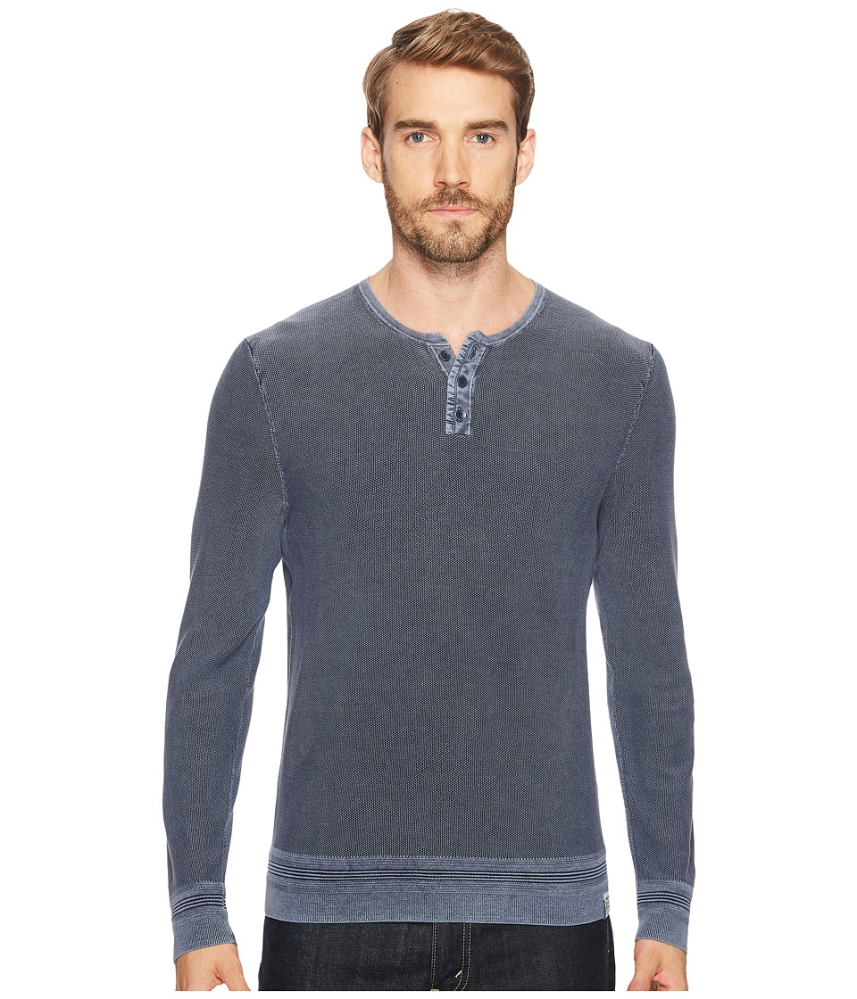 Lucky Brand Black Label Henley (Parisian Night) Men