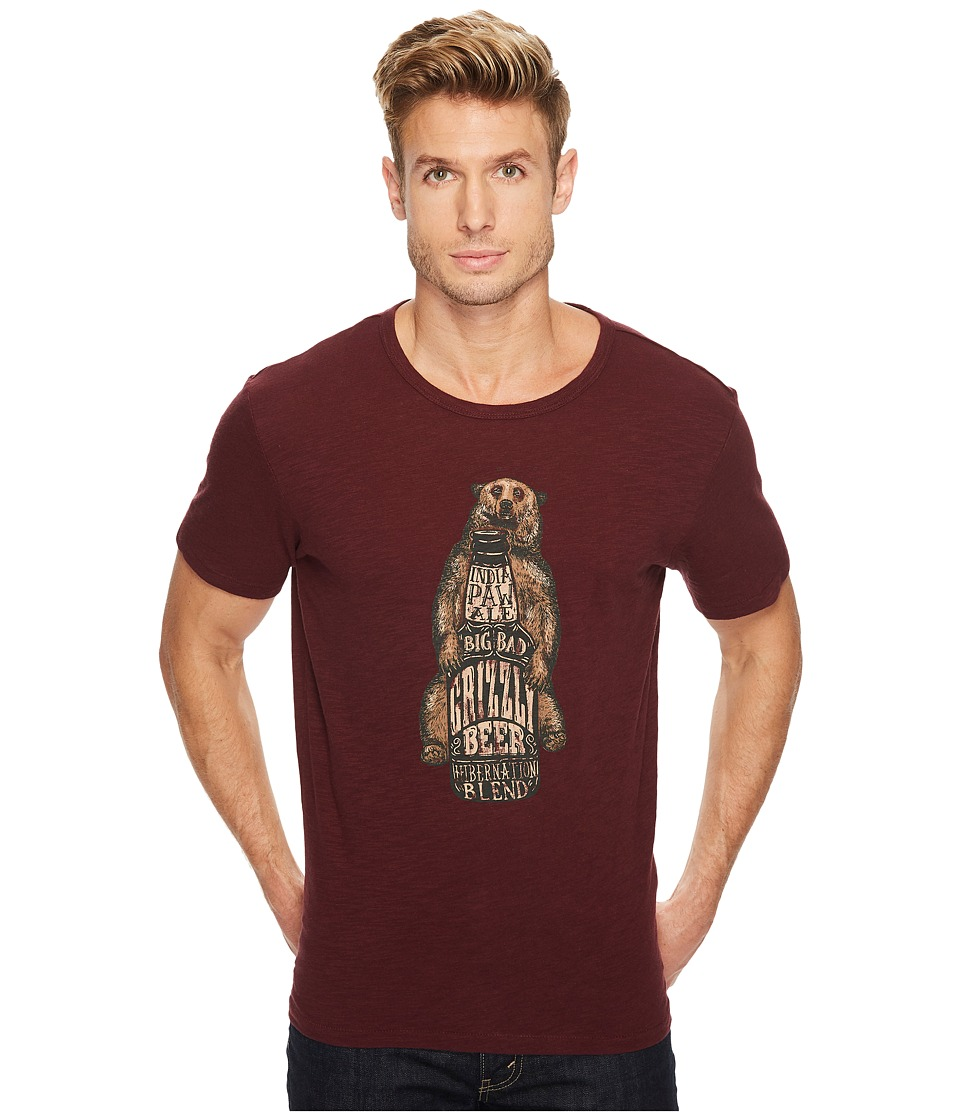 Lucky Brand India Paw Ale Graphic Tee (Port Royal) Men