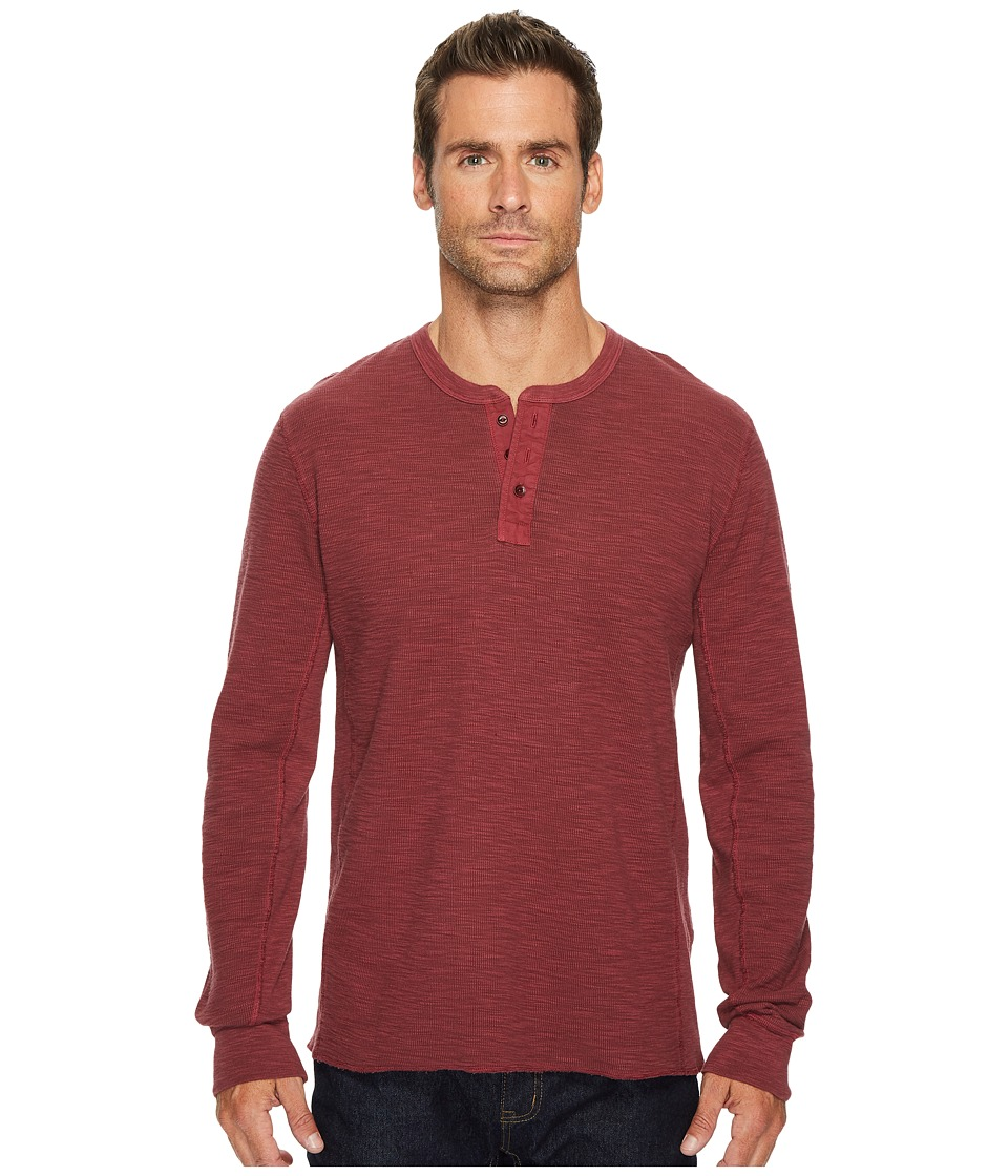 Lucky Brand Lived in Thermal Henley (Port Royal) Men