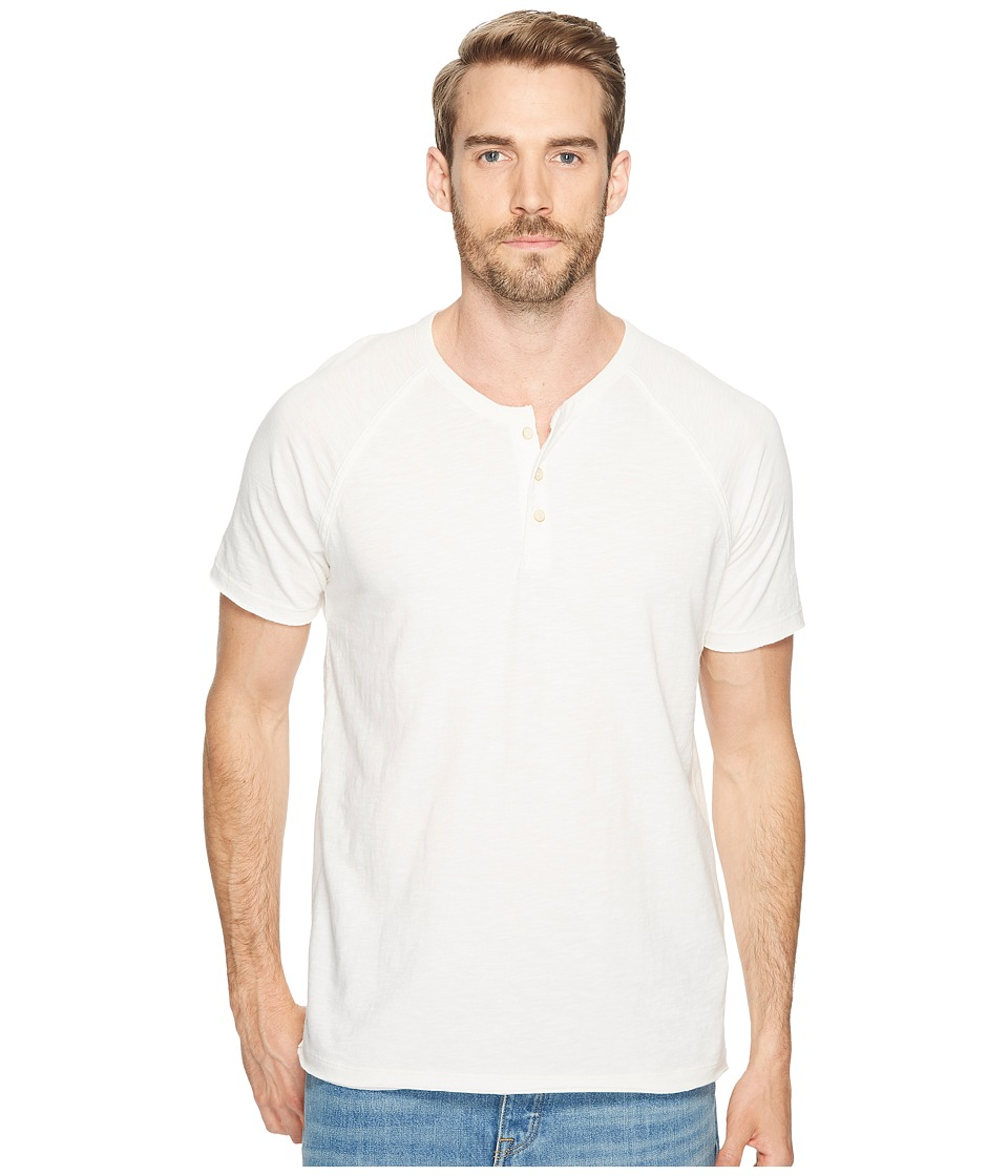 Lucky Brand Pigment Dyed Henley (Mashmallow) Men