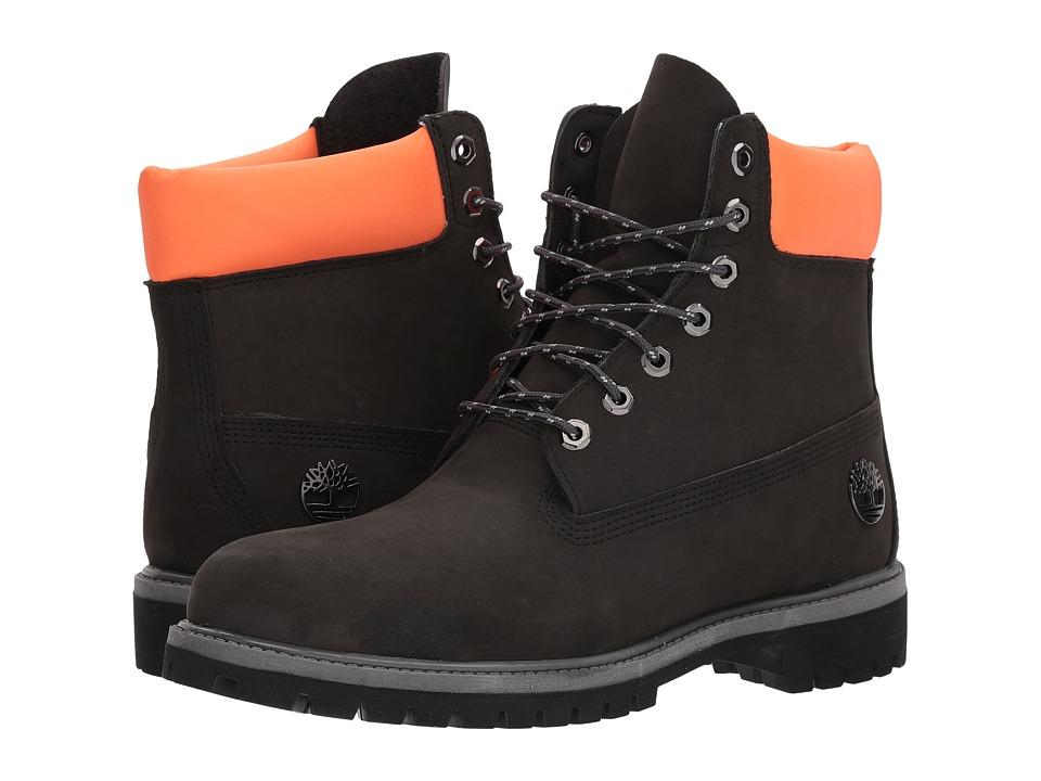 Timberland - 6 Premium Boot (Gunmetal Waterbuck w/ Reflective) Mens Boots