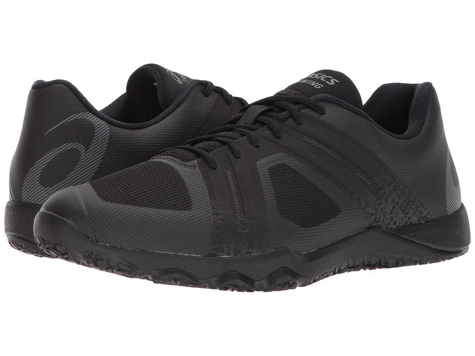 ASICS - Conviction X 2 (Black/Carbon/Sulphur Springs) Mens Cross Training Shoes