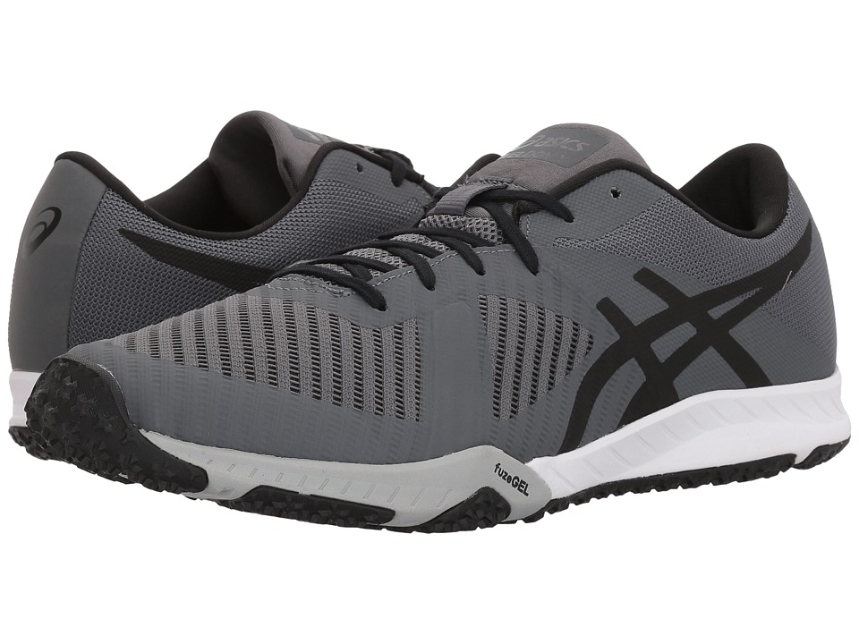 ASICS - Weldon X (Carbon/Onyx/Mid Grey) Mens Running Shoes