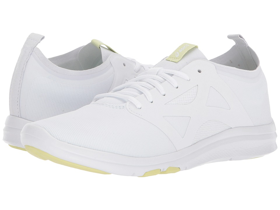 Asics Gel-Fit Yui 2 (White/White/Limelight) Women's Cross...
