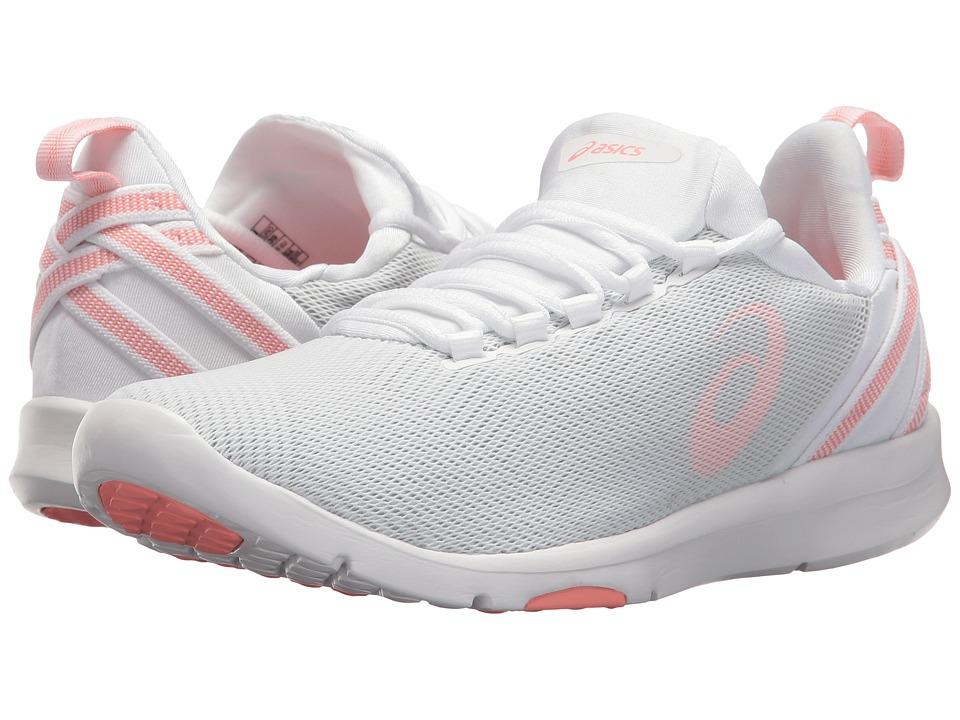 ASICS Gel-Fit Sana 3 (White/Begonia Pink/Glacier Grey) Women's Cross Training Shoes