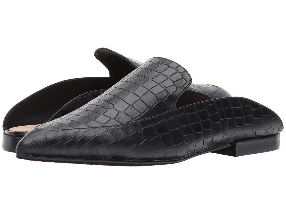 Kristin Cavallari Capri (Black Croco Leather) Women