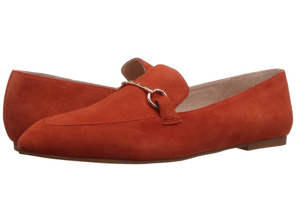 Kristin Cavallari Cambrie Loafer (Orange Kid Suede) High Heels