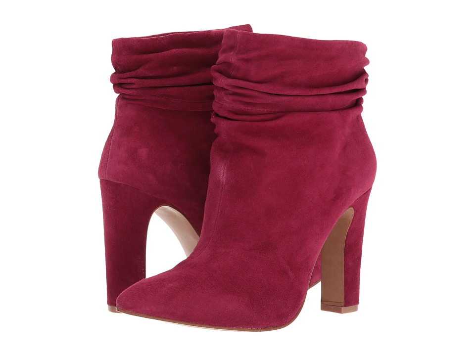 Kristin Cavallari Kane Bootie (Red Kid Suede) Women's Dress Boots