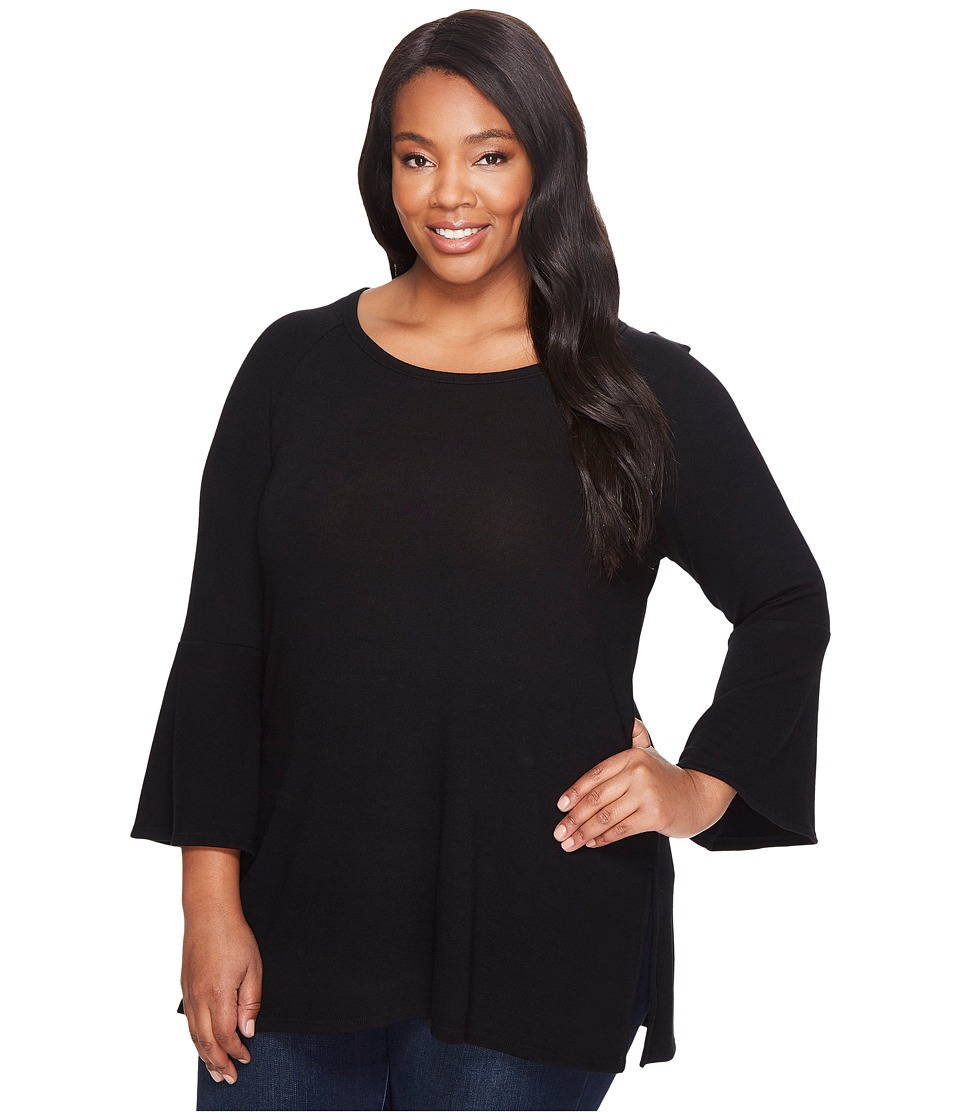 Karen Kane Plus - Plus Size Bell Sleeve Sweater