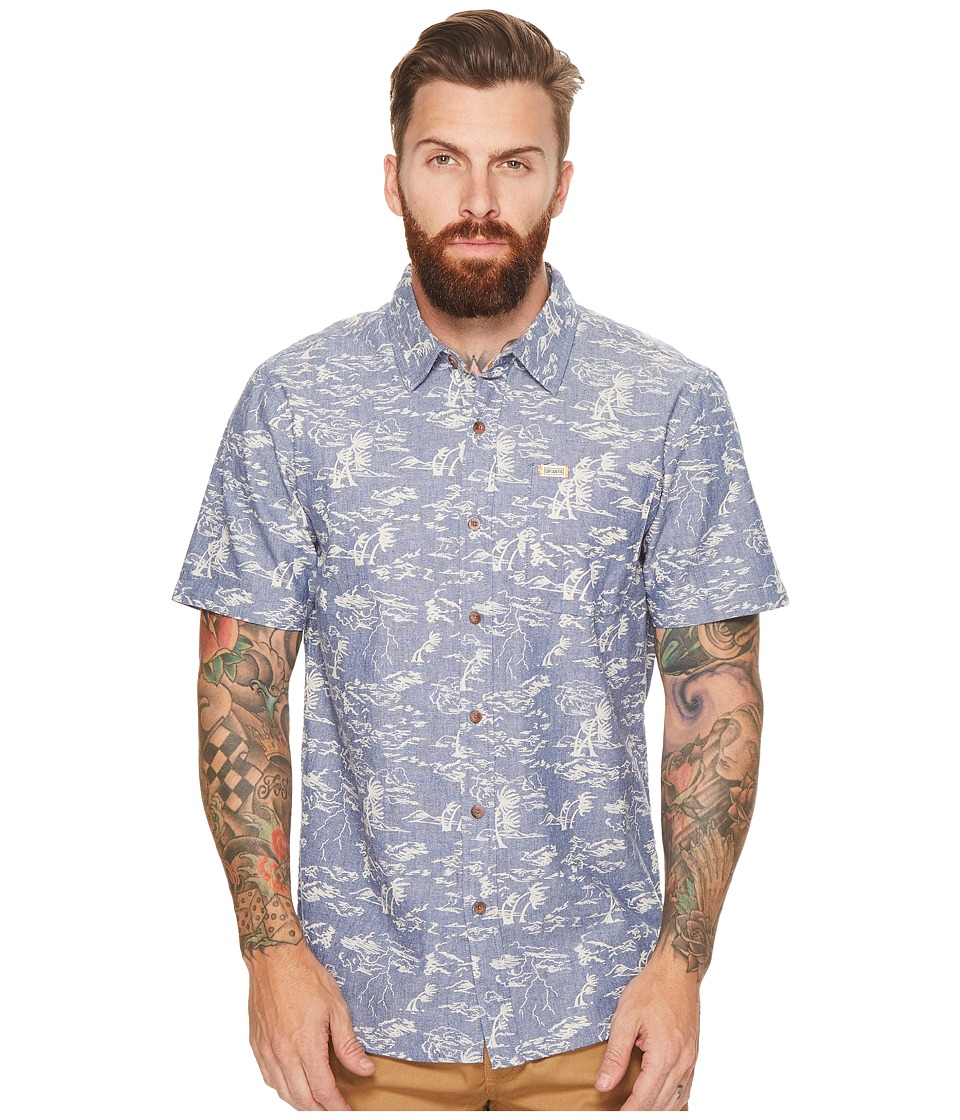 Captain Fin - Stormin The Castle Short Sleeve Woven Top