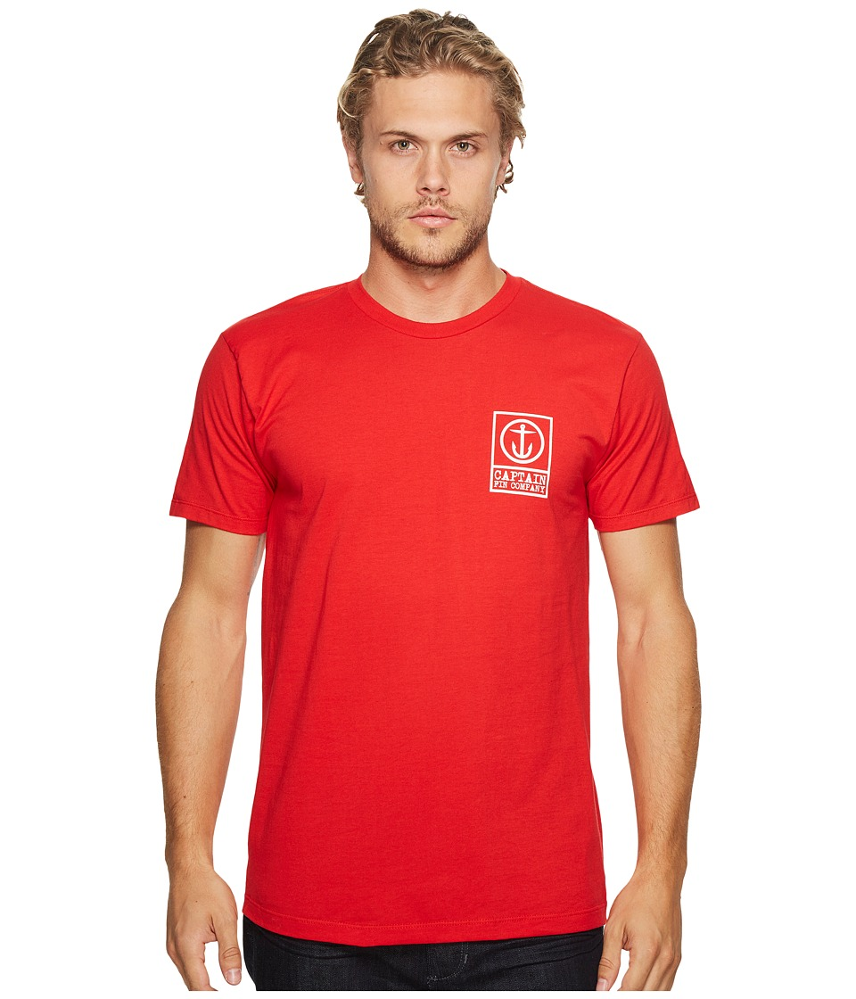 Captain Fin Boxed Out II T-Shirt (Red) Men