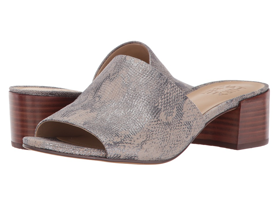 Naturalizer Fairley (Silver Grey Metallic Snake Leather) Women
