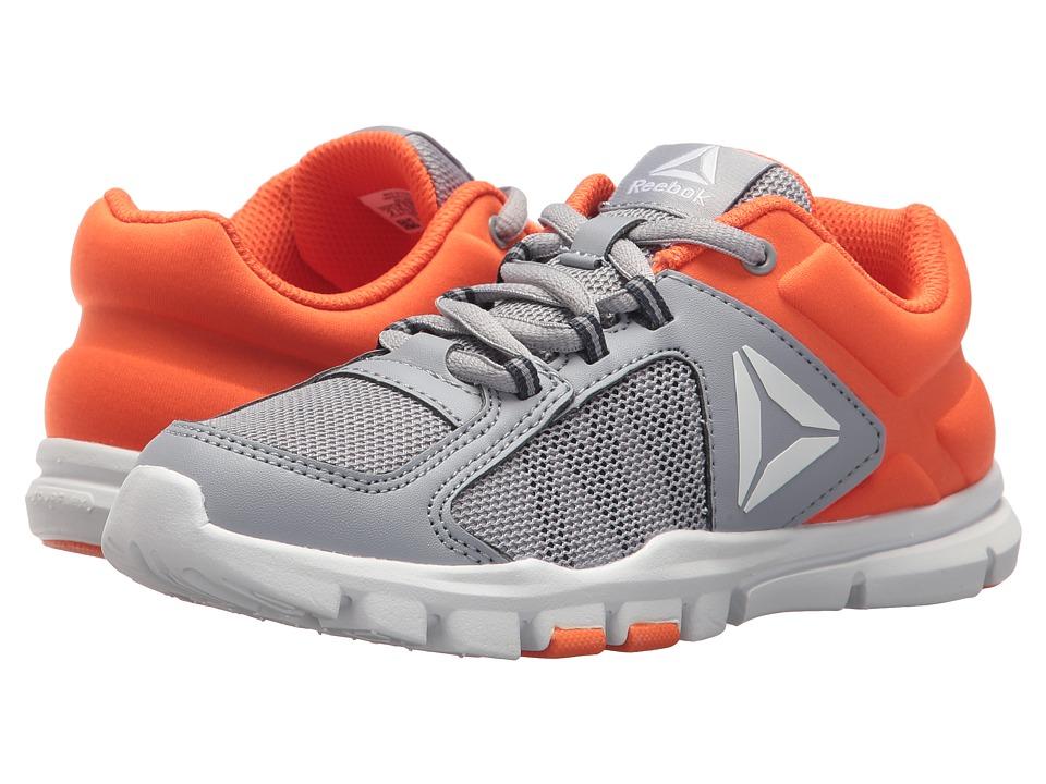 Reebok Kids Yourflex Train 9.0 (Little Kid/Big Kid) (Cool Shadow/Bright Lava/Collegiate Navy) Boys Shoes